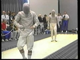 Kansas City Men's Sabre World Cup 1996  V. Szabo  Kirienko